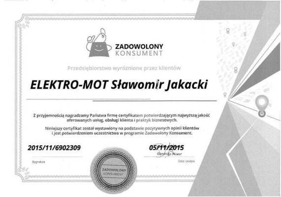 Referencje dla Elektro-Mot 8